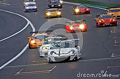 Dutch Supercar Challenge race 2010 Editorial Stock Image