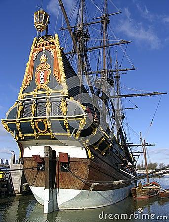 Free Dutch Tall Ship 1 Stock Photography - 90702