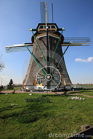 Free Dutch Windmill Royalty Free Stock Image - 4844966