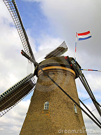 Free Dutch Windmill Stock Image - 6164311