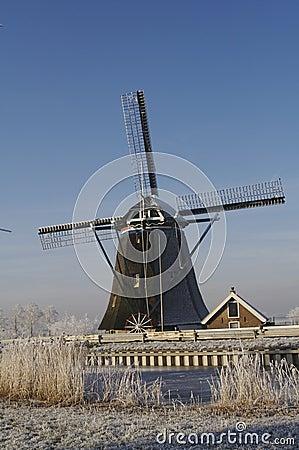 Dutch windmill