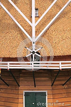 Dutch windmill detail