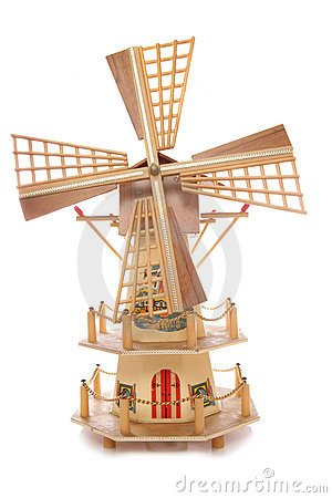 Free Dutch Windmill Ornament Stock Image - 15901571