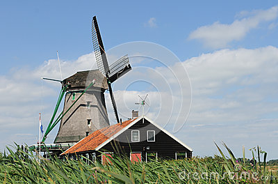 Dutch Windmill  Zaandam 2
