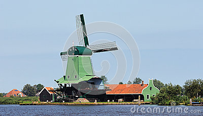 Dutch Windmill Zaandam 3