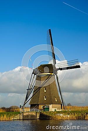 Free Dutch Windmills Stock Photography - 7560802