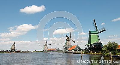 Dutch Windmills Zaandam