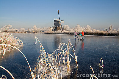 Dutch winter landscape 2