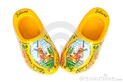 Wearable Wooden Shoes - Dutch Village - Holland, Michigan