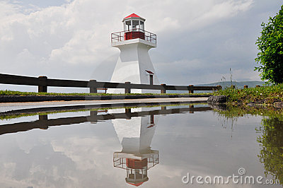 Duthie point lighthouse (Quebec)