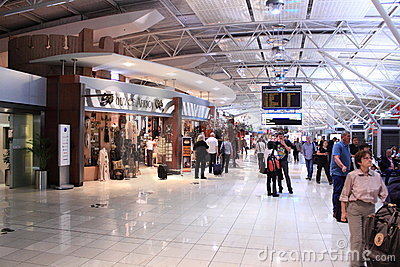 Duty free shopping mall Editorial Image