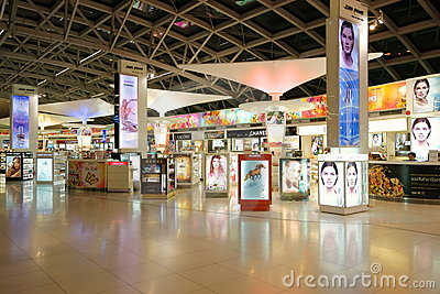 Duty Free at Suvarnabhumi Airport Editorial Image