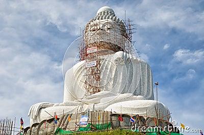 Duży Buddha Phuket Fotografia Editorial