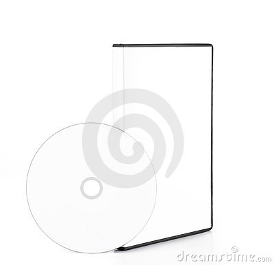 DvD Blank Case With Blank Disk