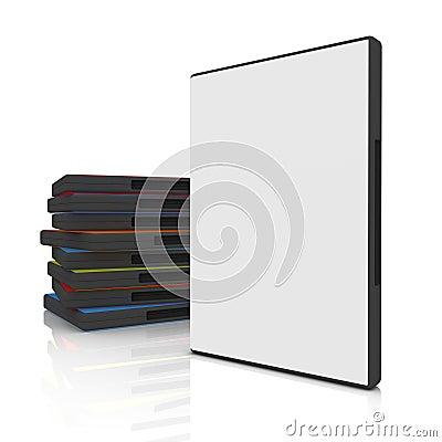 Free DVD Case Stock Image - 2455371