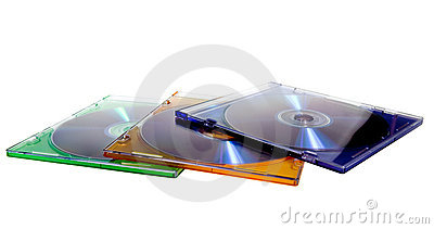 DVD case with disc