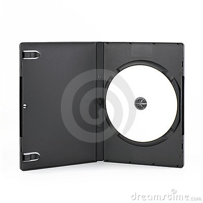 DvD Case Open With DvD Disk