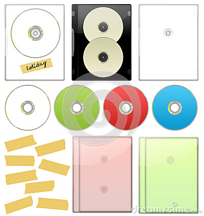 DVD - CD Case Set