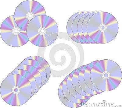 DVD or CD disks