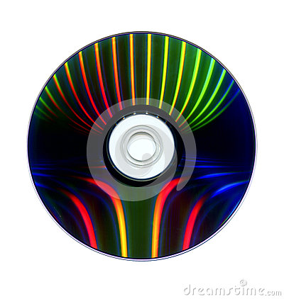 Free DVD-Datalayer Stock Photography - 38923002