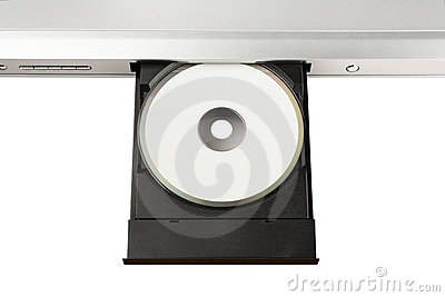 DVD on Disc Tray