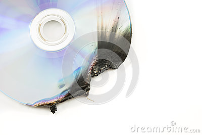 Dvd disk damage