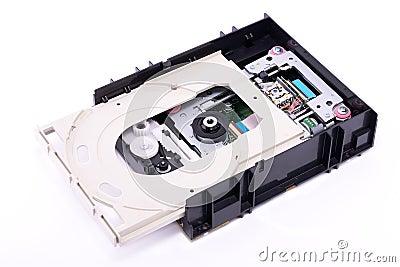 DVD Drive Inside