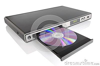 dvd player stock photos image 19722673. Black Bedroom Furniture Sets. Home Design Ideas