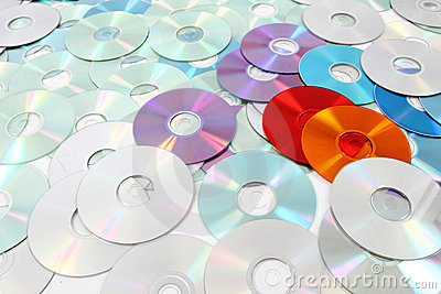 Dvd technologies background