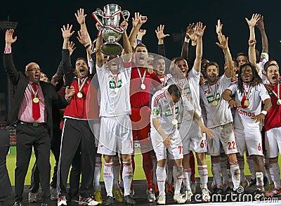 DVSC vs. Gyor Hungarian Cup Final football match Editorial Photography