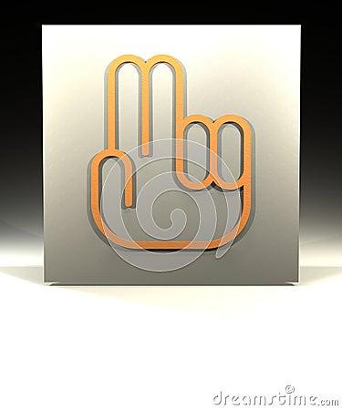 Dwa palce