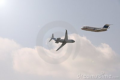 Dwa samoloty