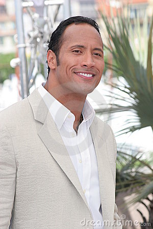 Dwayne  The Rock  Johnson Editorial Stock Image