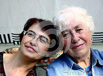Dwie kobiety.