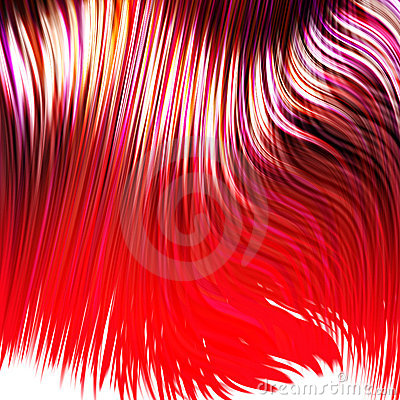 Free Dyed Red Hair Stock Photos - 3315673