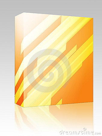 Dynamic abstract box package