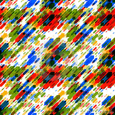 Dynamic Abstract Seamless Pattern