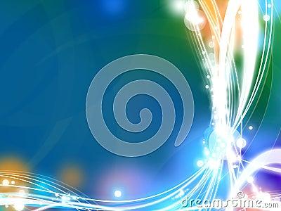 Dynamic Glow Background