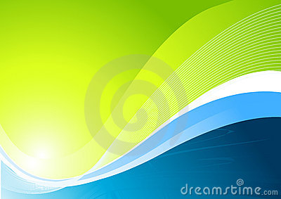 Dynamic Green Background