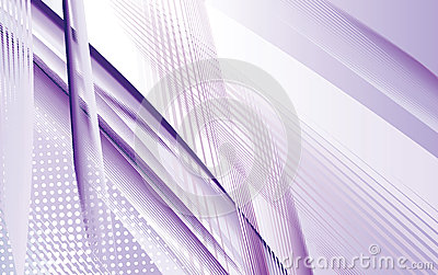 Dynamic Purple Swoosh with lines