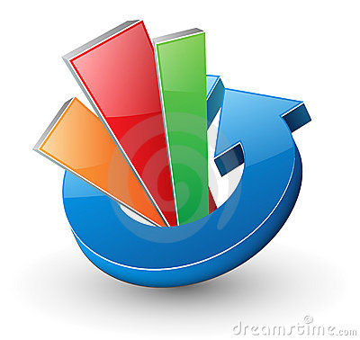 Dynamisk logo för pil