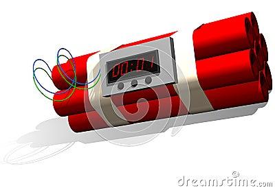 Dynamite time bomb