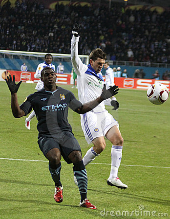 Dynamo Kyiv vs Manchester City Editorial Stock Photo