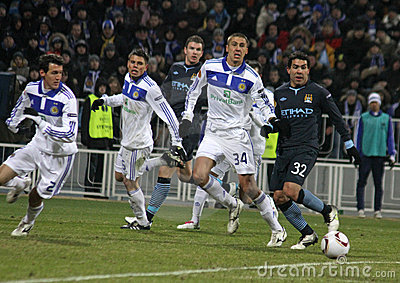 Dynamo Kyiv vs Manchester City Editorial Image