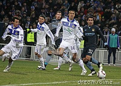 Dynamo Kyiv vs Manchester City Editorial Image