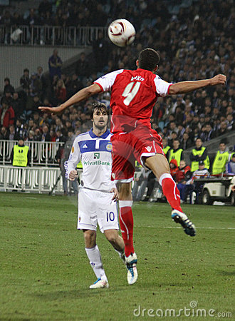 Dynamo Kyiv vs SC Braga Editorial Stock Image
