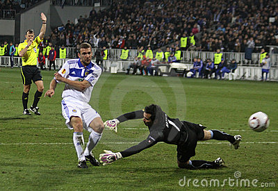 Dynamo Kyiv vs SC Braga Editorial Image