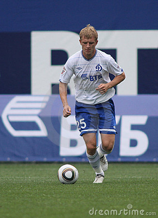 Dynamo Moscow s defender Denis Kolodin Editorial Stock Photo