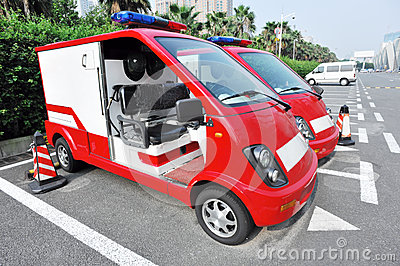 Dynamoelectric fire engine