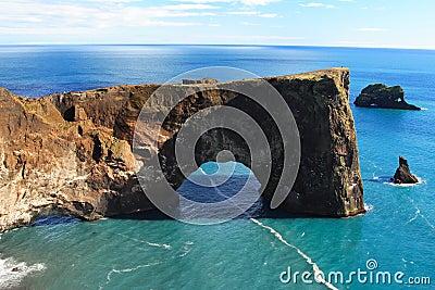 Dyrholaey In Iceland 2